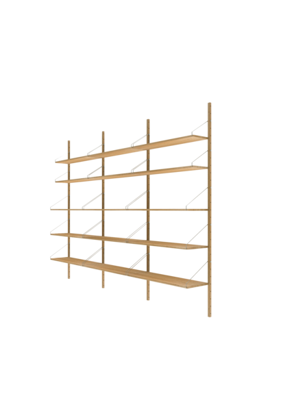 Shelf Library H1852 | Triple Section