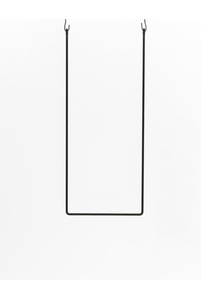 Clothing rail rectangle 45x110
