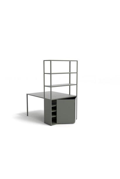 New Order Table Comb. 401 - table incl. steel door
