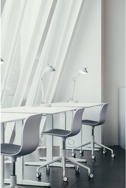 Toonzaalmodel PC Lamp w Table Base - Ash Grey