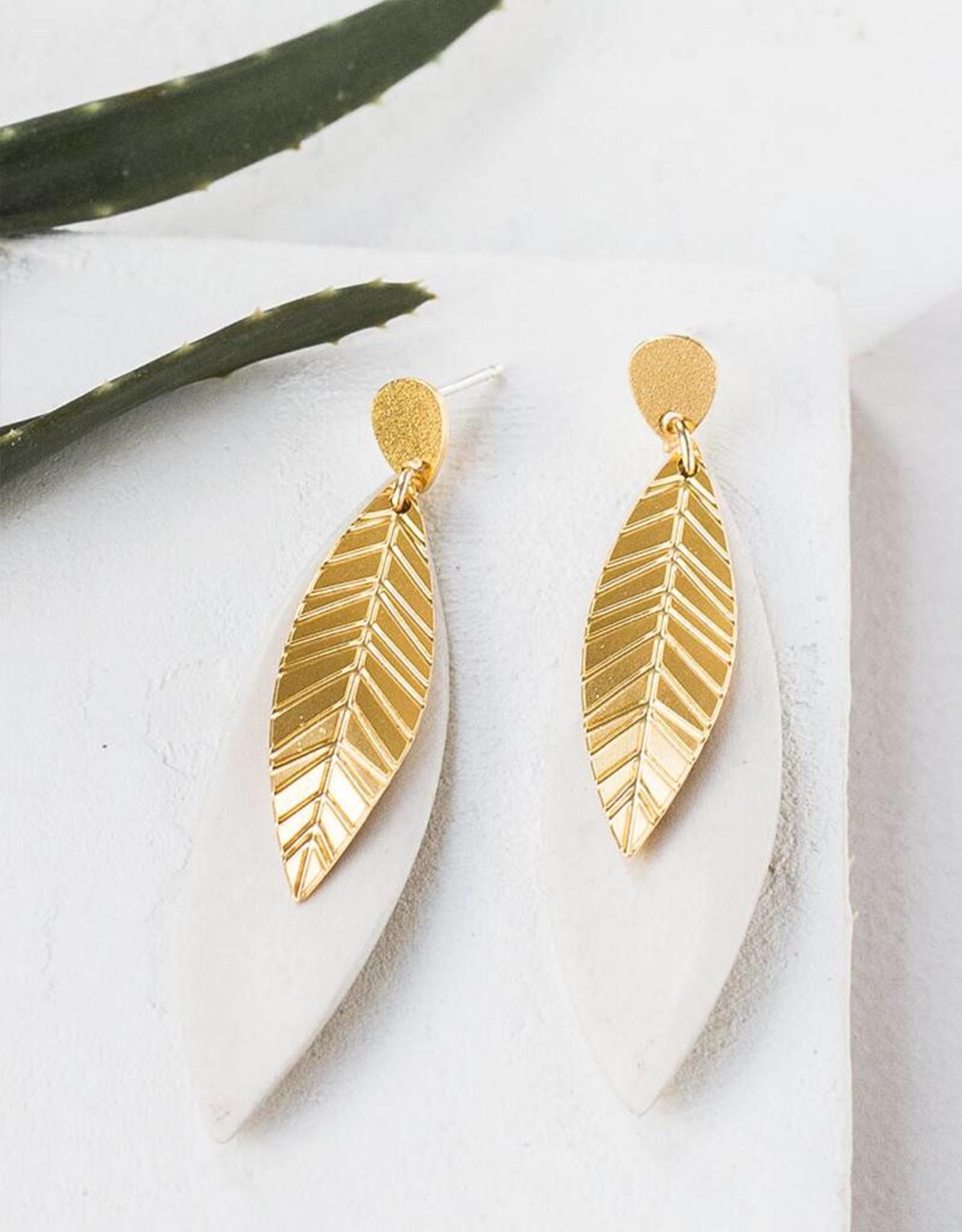 Shlomit Ofir Ivy earrings