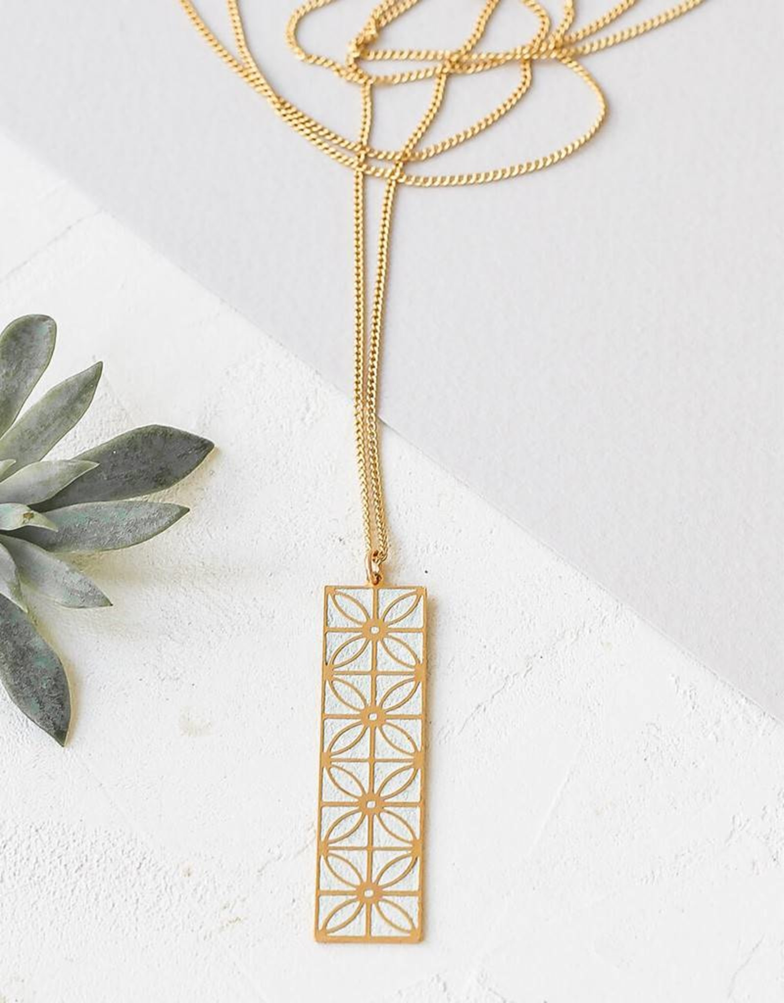 Shlomit Ofir Long Jaffa Necklace