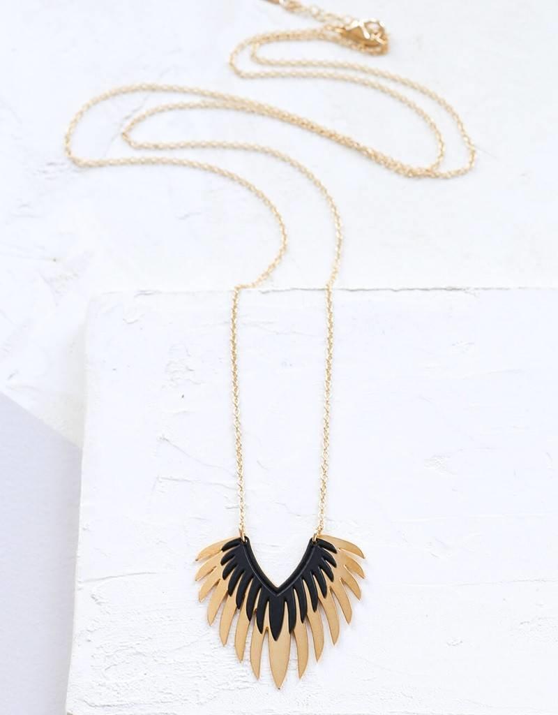 Shlomit Ofir Mohawk necklace