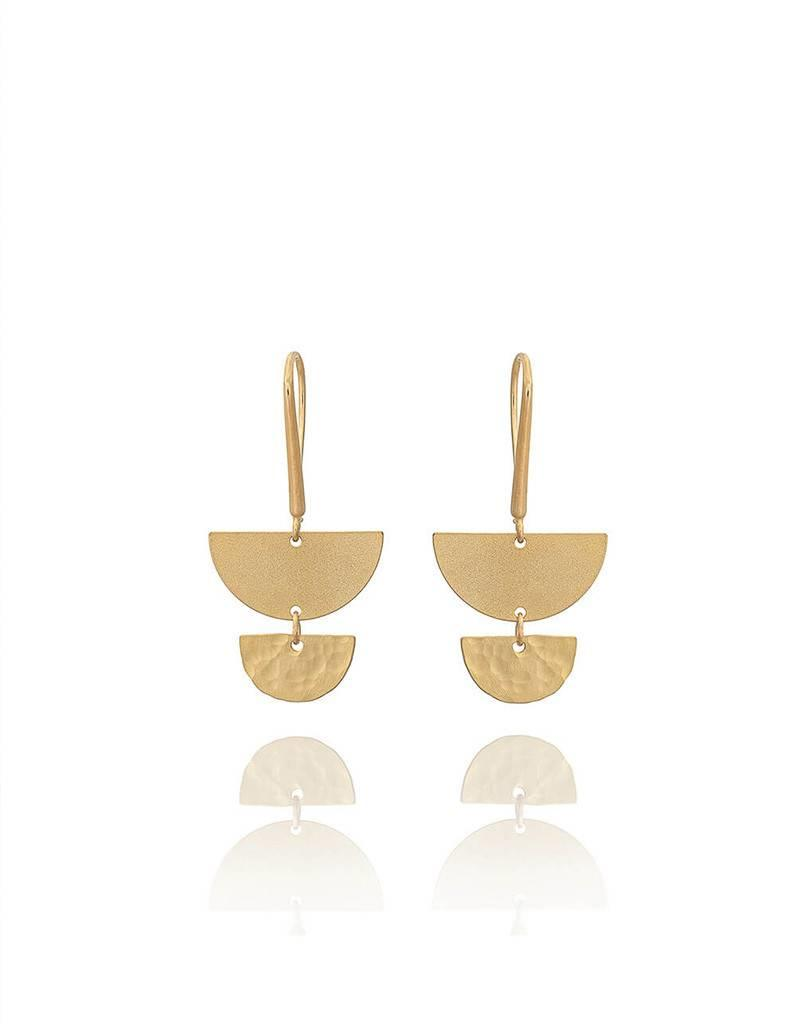 Shlomit Ofir Salinas earrings - Gold
