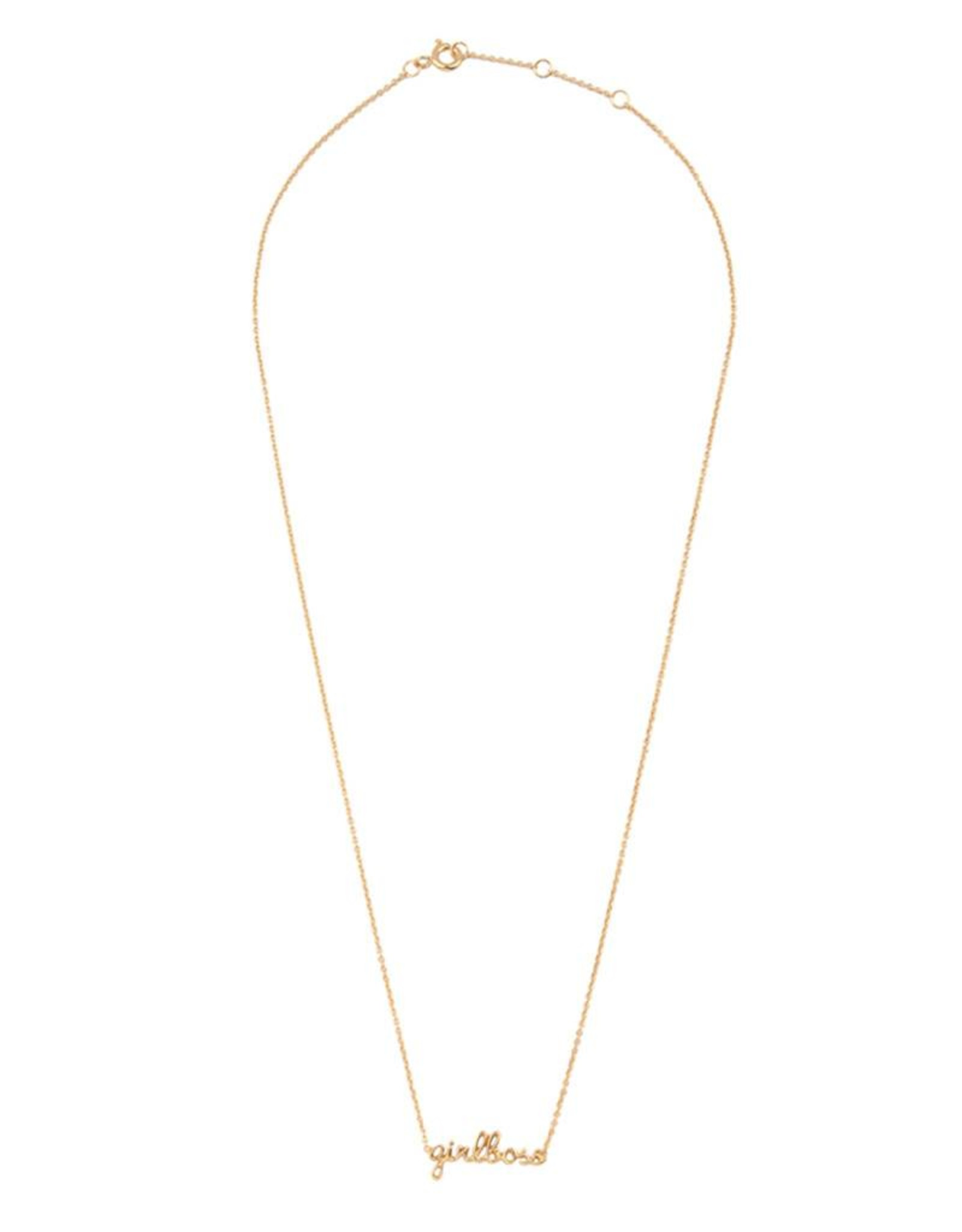 All the luck in the world Urban Necklace - Girlboss