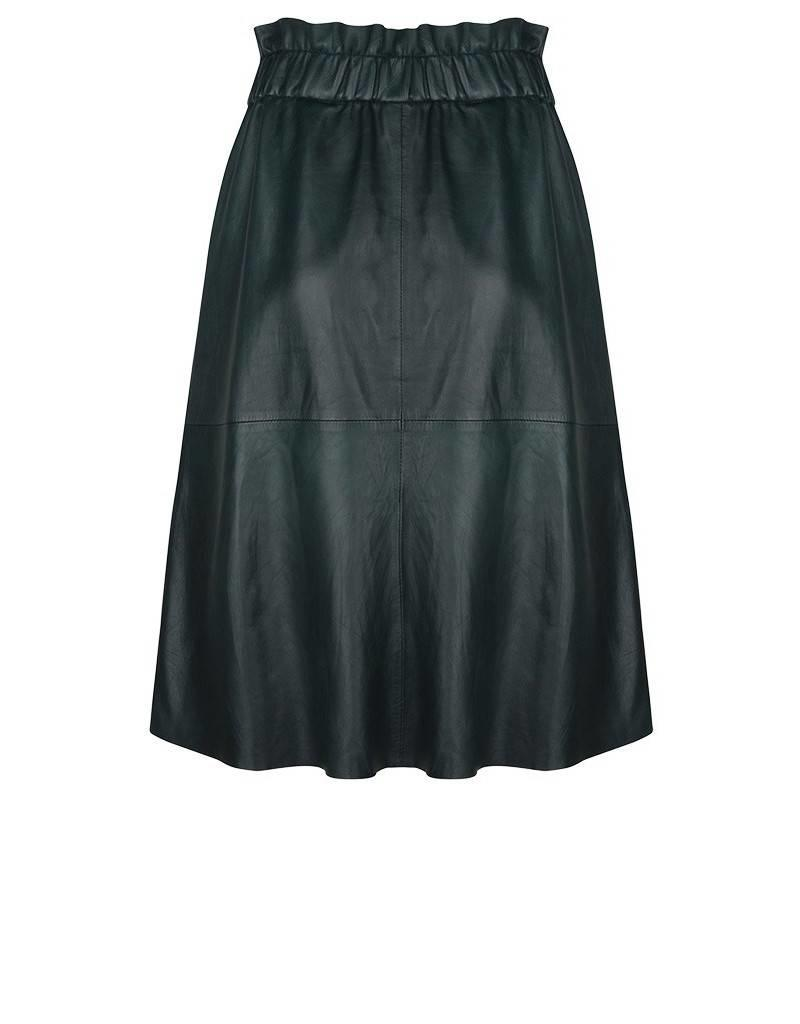 dante6 Tamari Leather Skirt