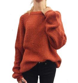birgitte herskind Polly knit Rust / Blue