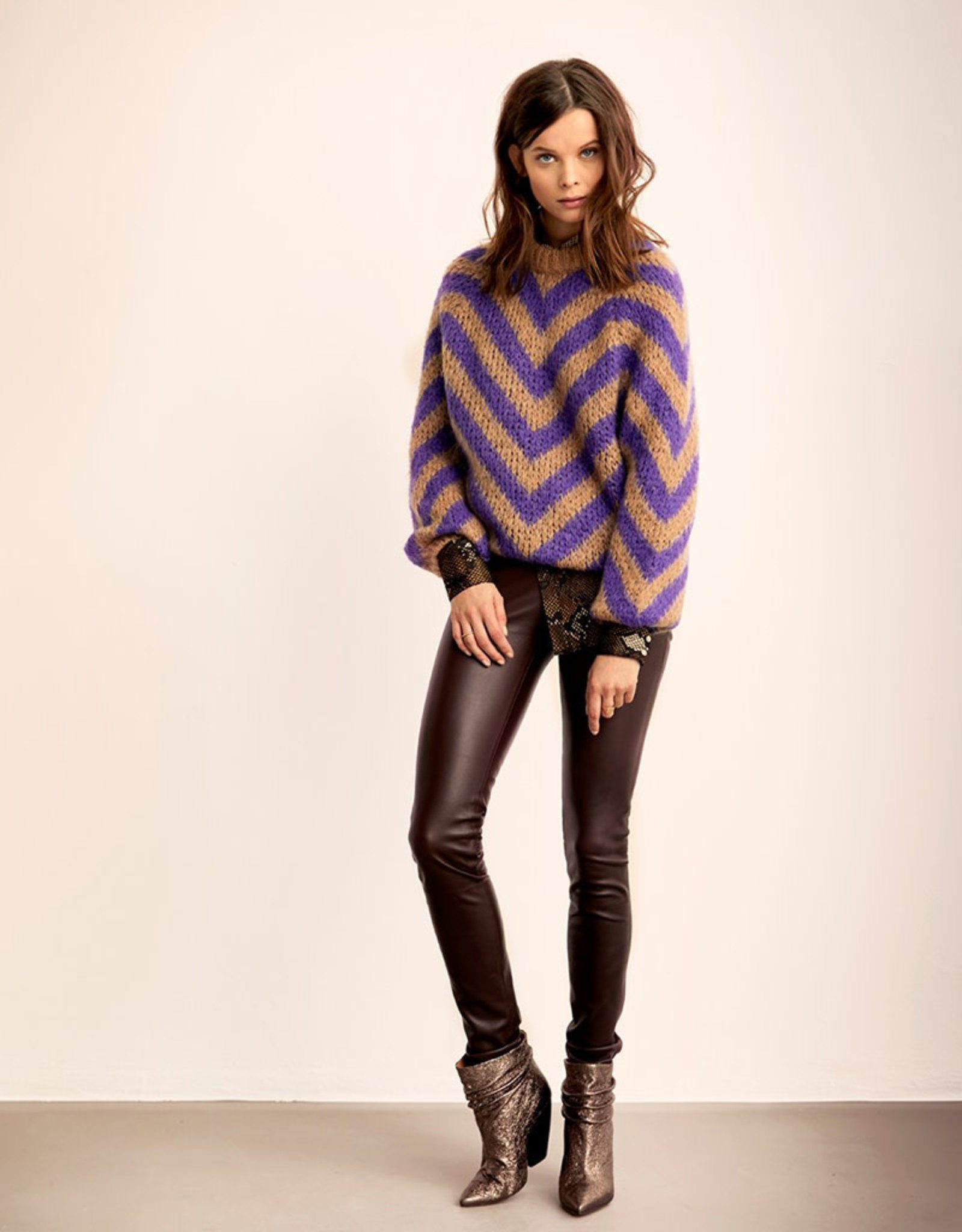 dante6 Evrie Chevron Sweater