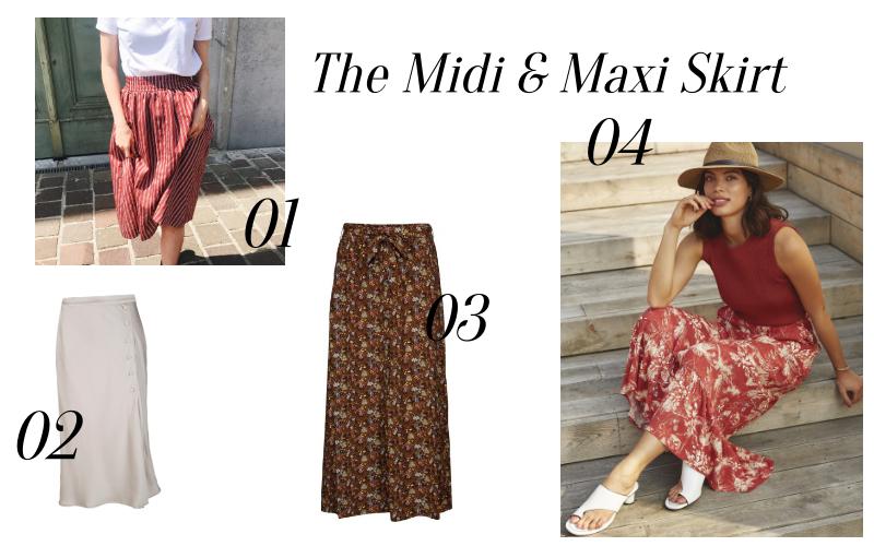 In deze 4 Midi & Maxi Skirts Breng Jij je Staycation Door!