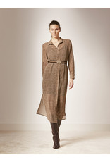 dante6 Ludique Chevron Printed Dress