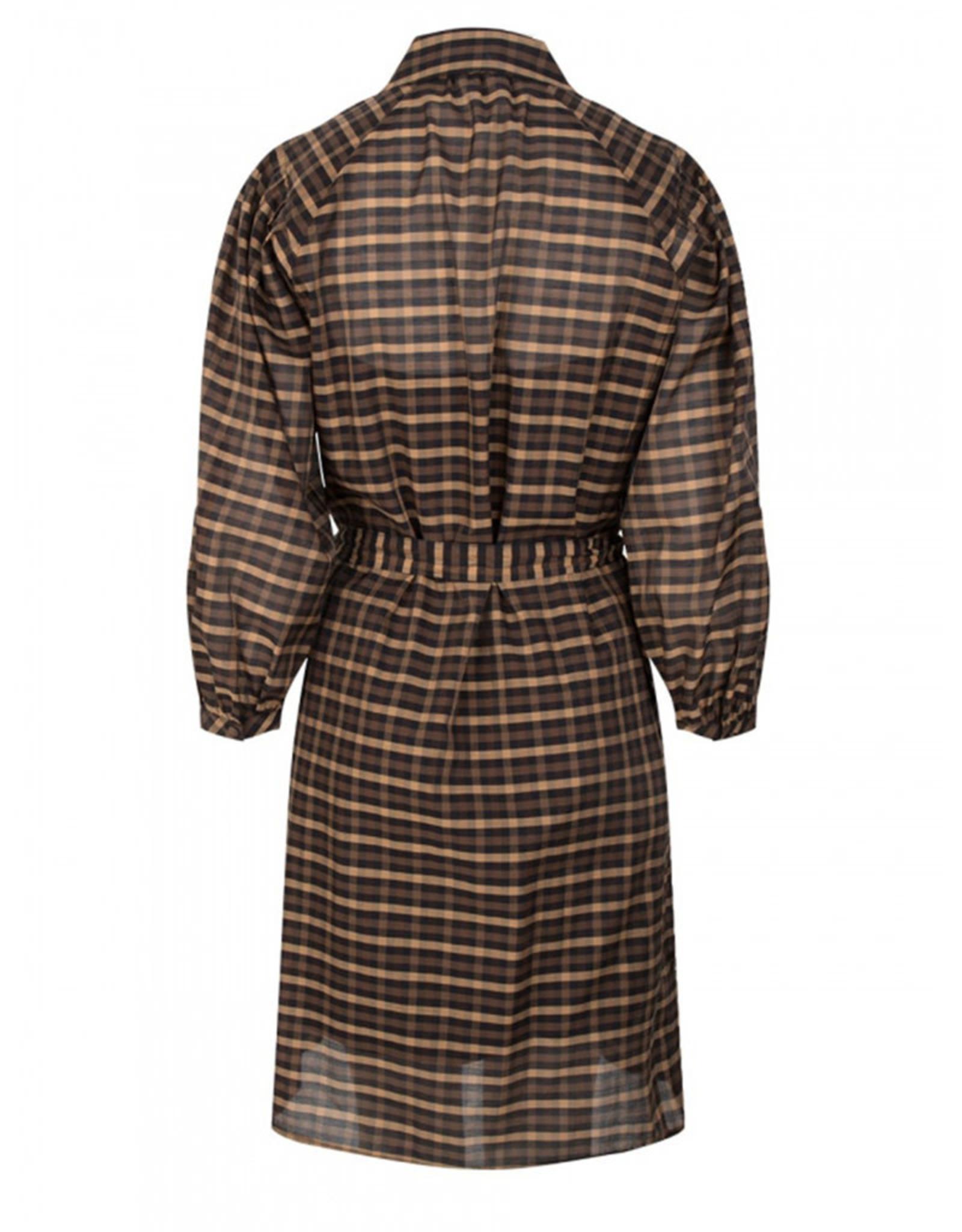 dante6 Pompadour Check dress