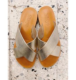 Slaye Gouden sandalen