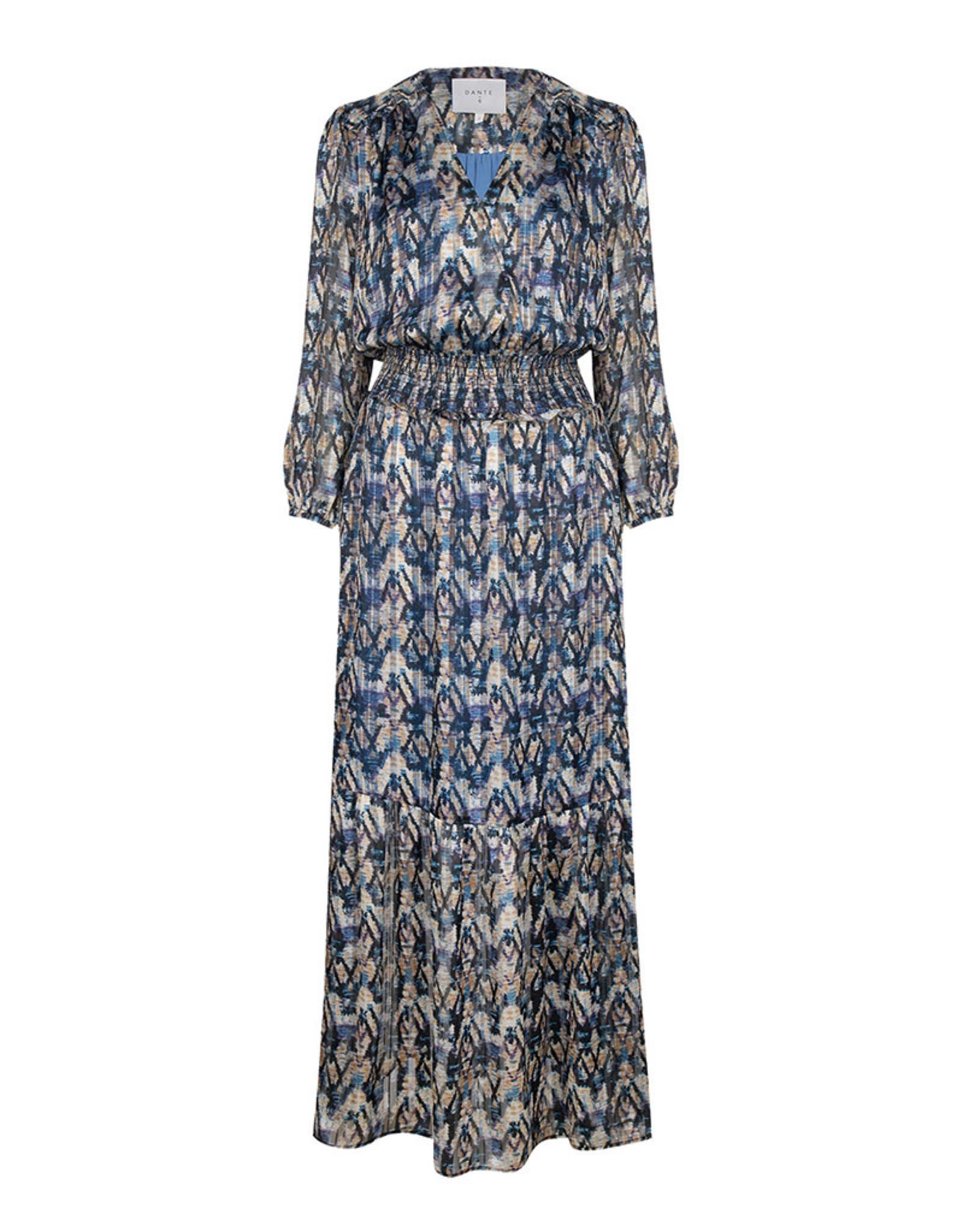 dante6 Bardon Aztec Long Dress