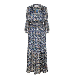 dante6 Bardon Aztec Long Dress