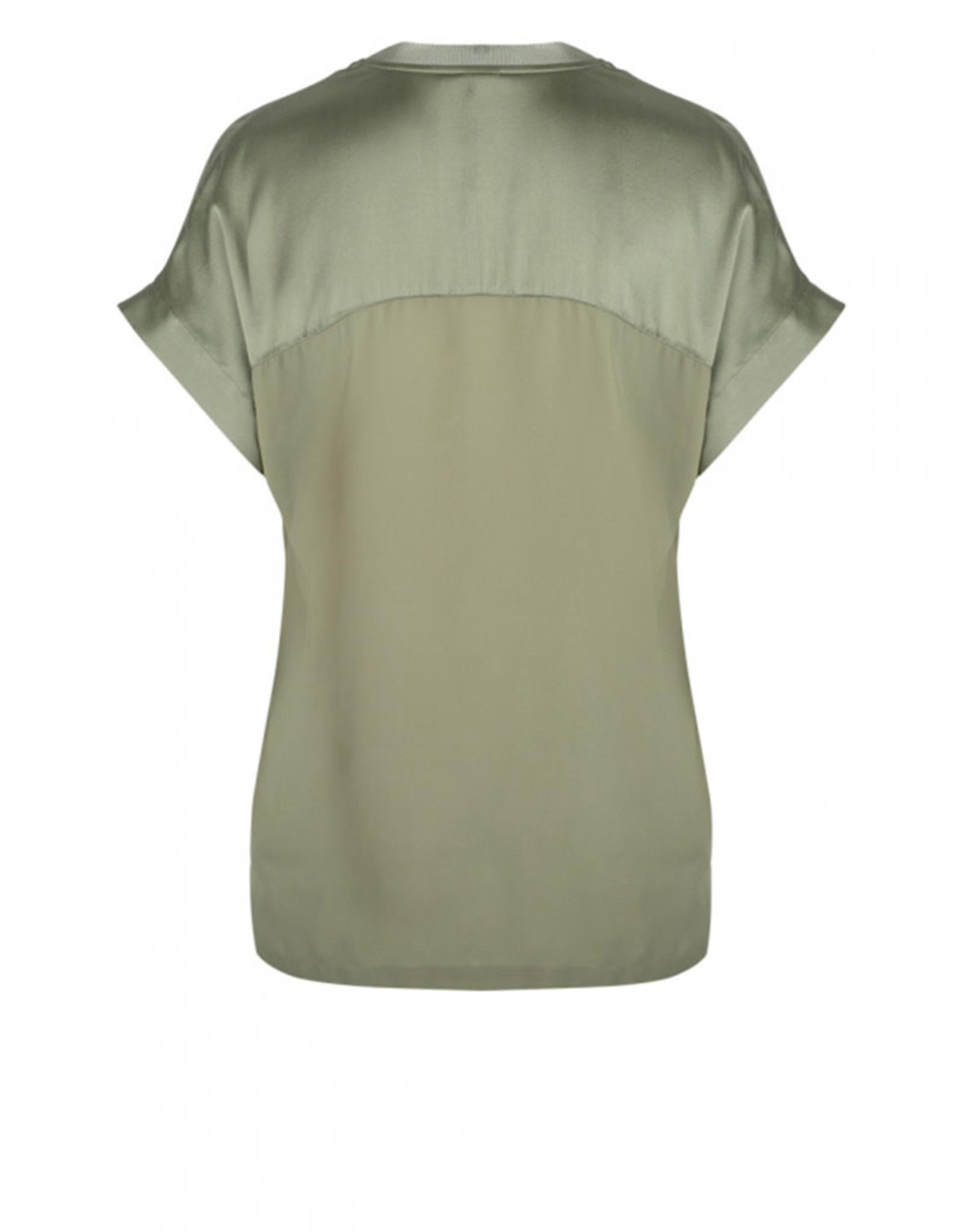 dante6 Odette Silk Green top