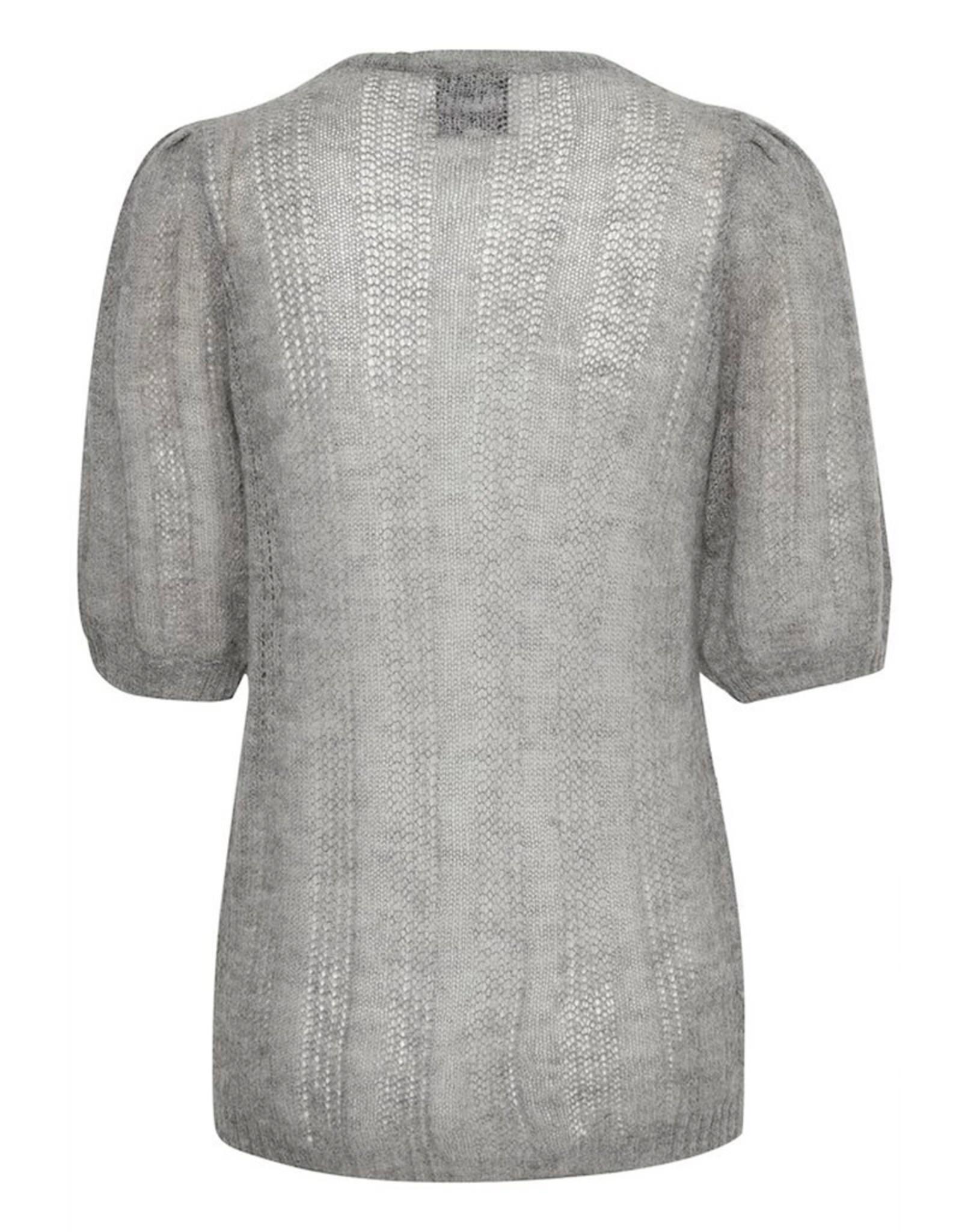My Essential Wardrobe Fiona Knit Puff Blouse