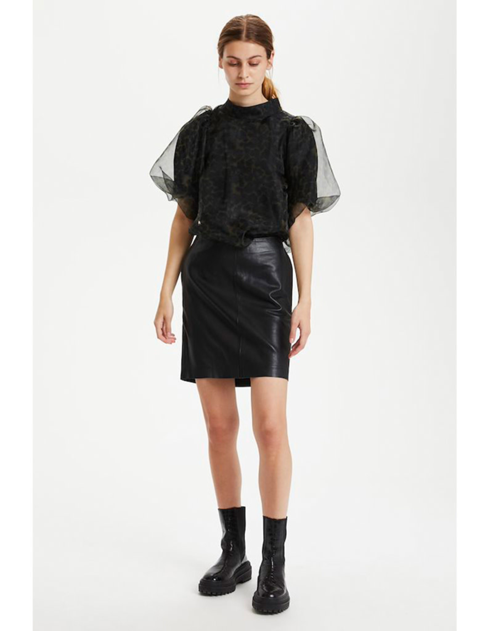 My Essential Wardrobe The Leather Skirt
