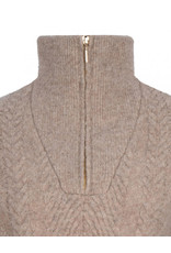 dante6 Yina Zip Cable Sweater