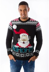 Weihnachtspulli Rudolph Ho-ho-ho 3D