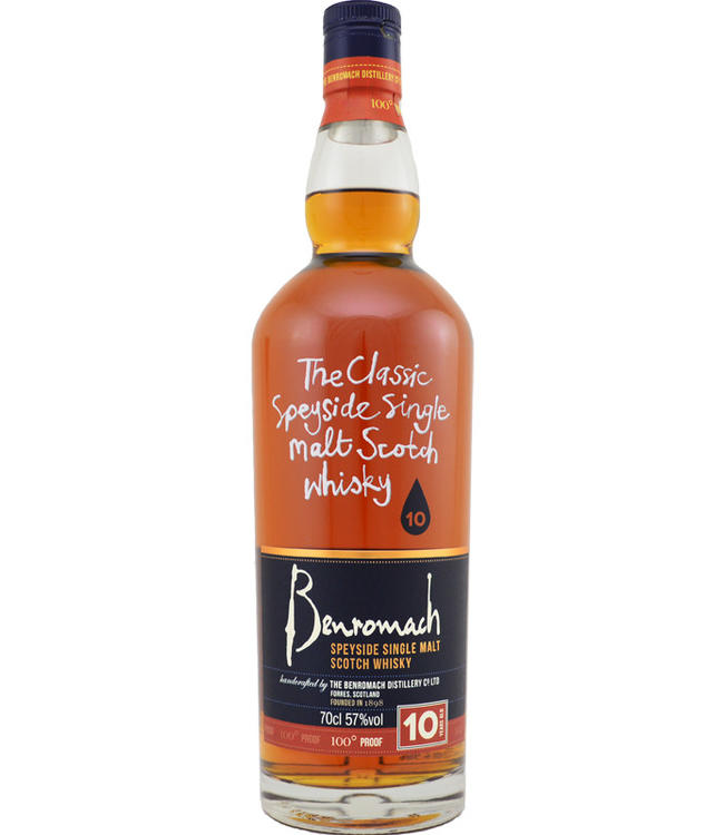 Benromach Benromach 10 jaar 100 Proof