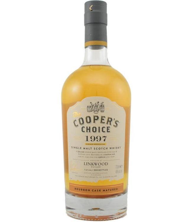 Linkwood Linkwood 1997 The Vintage Malt Whisky Co Ltd.