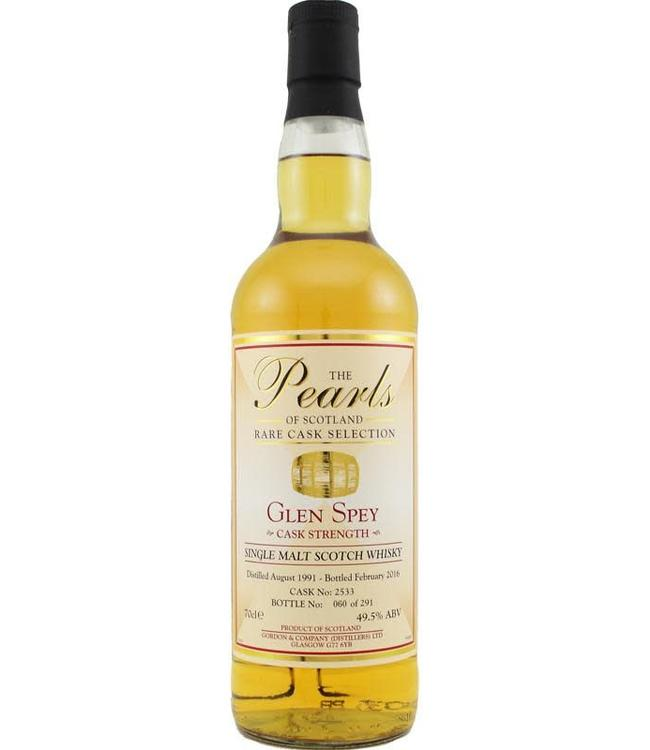 Glen Spey Glen Spey 1991 Pearls of Scotland