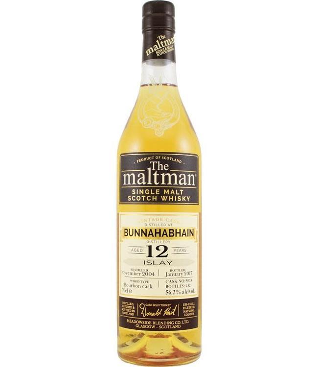 Bunnahabhain Bunnahabhain 2004 The Maltman