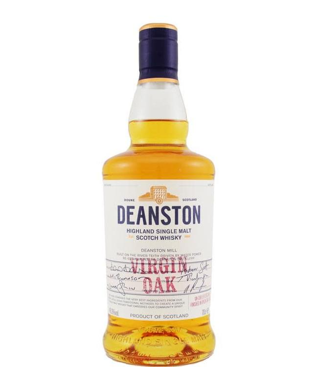 Deanston Deanston Virgin Oak - 2017 label