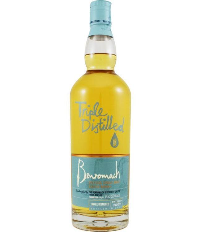 Benromach Benromach 2009 Triple Distilled