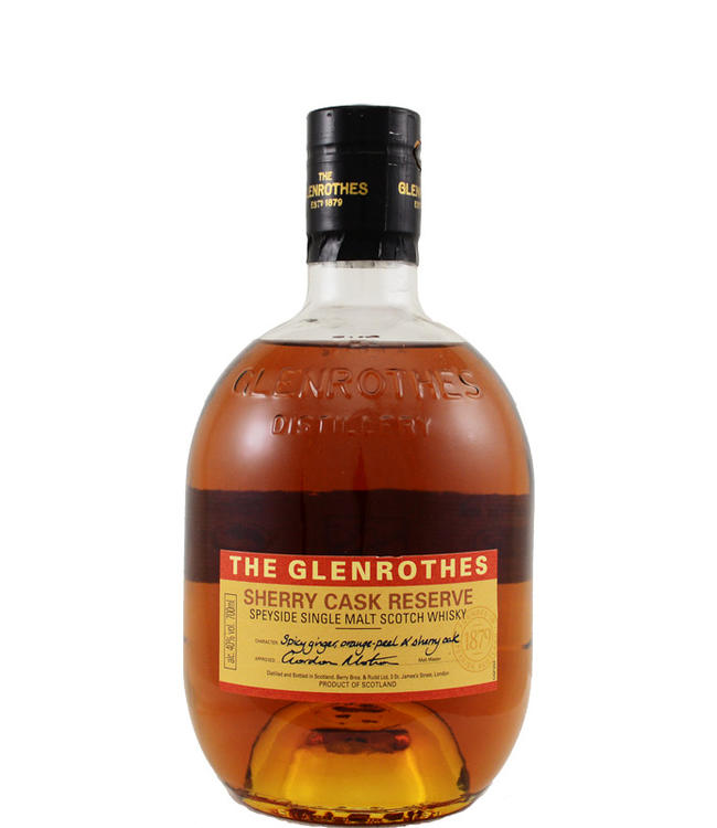 Glenrothes Glenrothes Sherry Cask Reserve
