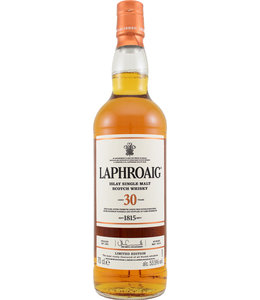 Laphroaig 30-year-old - 53.5%