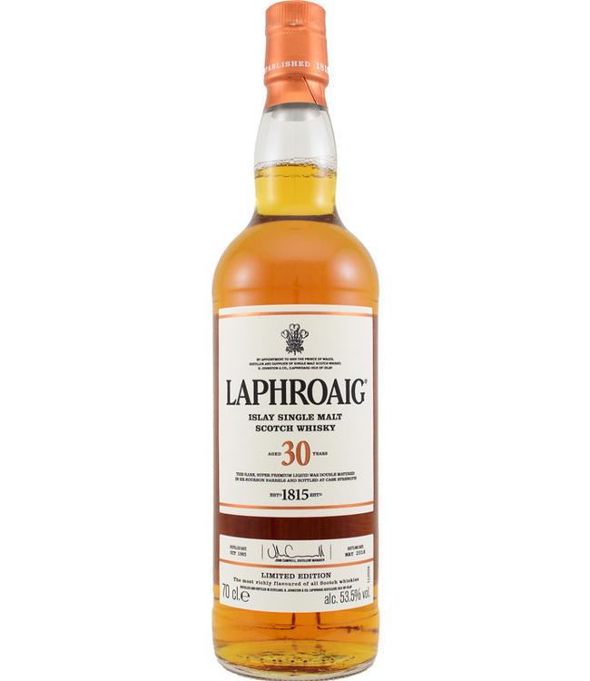 Laphroaig Laphroaig 30-year-old - 53.5%