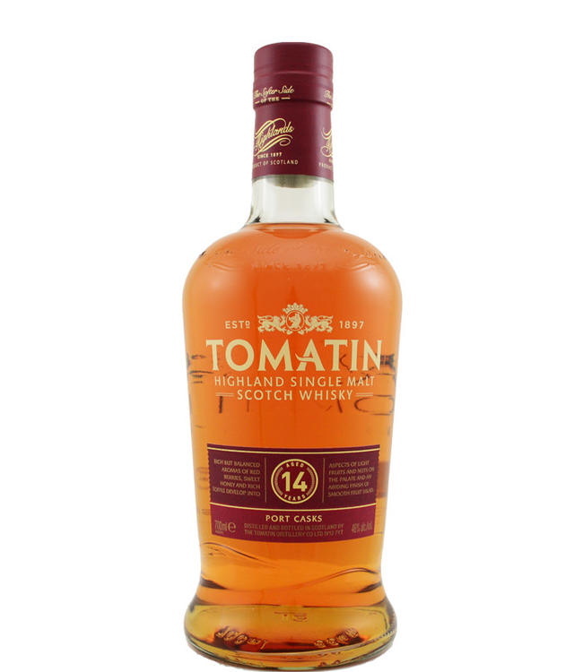 Tomatin Tomatin 14-year-old Port