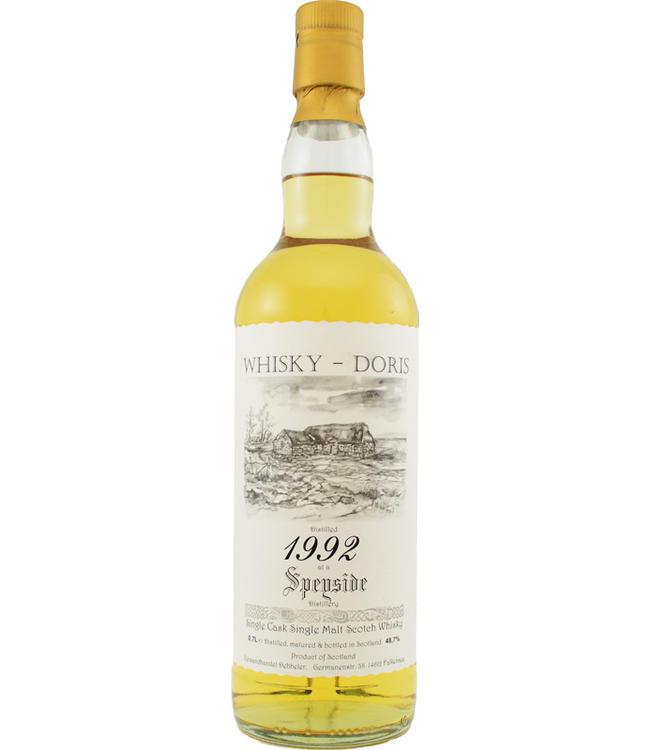 Speyside Region Speyside 1992 Whisky Doris 48.7%