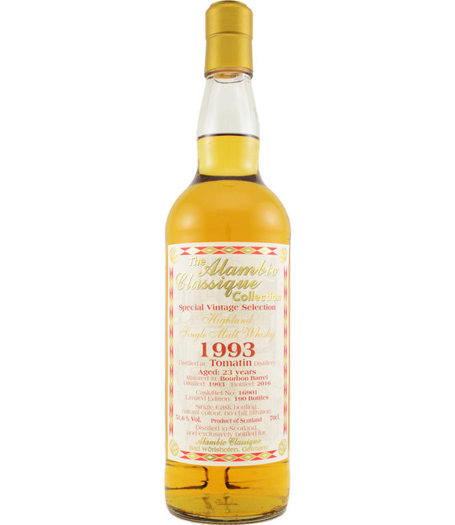Tomatin Tomatin 1993 Alambic Classique