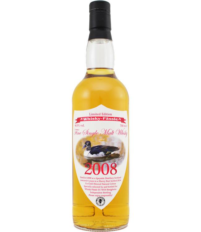 Speyside Region 2008 Whisky-Fässle