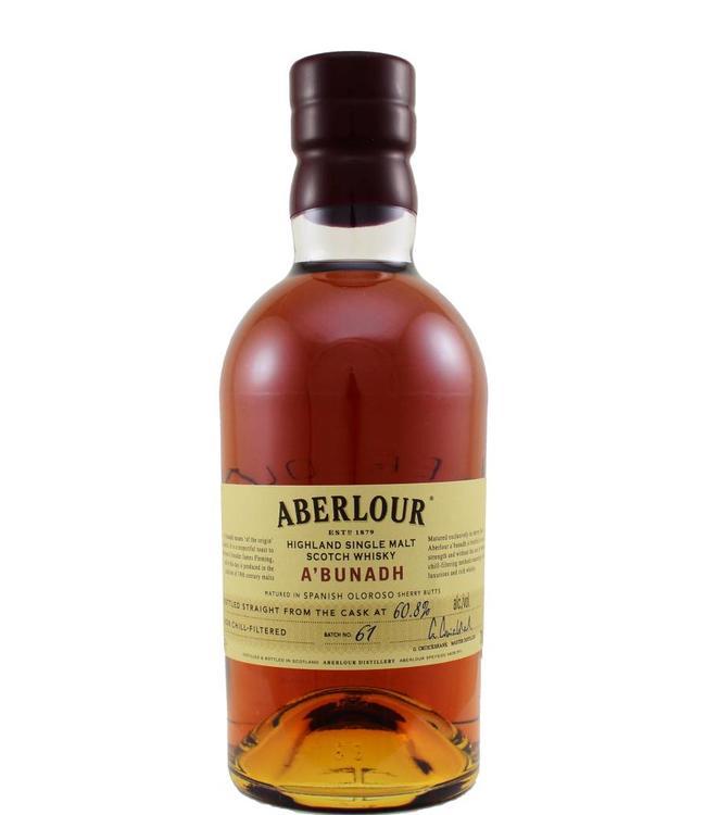 Aberlour Aberlour A'bunadh Batch #61