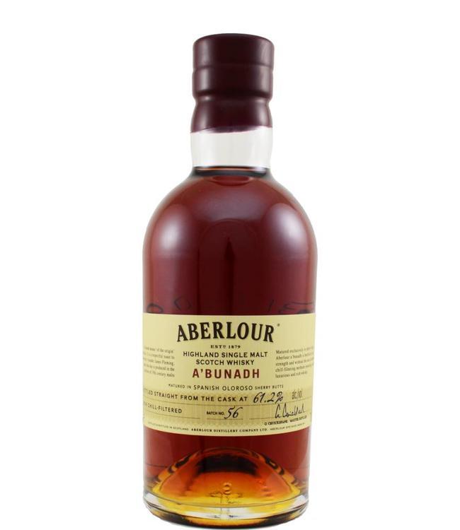 Aberlour Aberlour A'bunadh batch #56