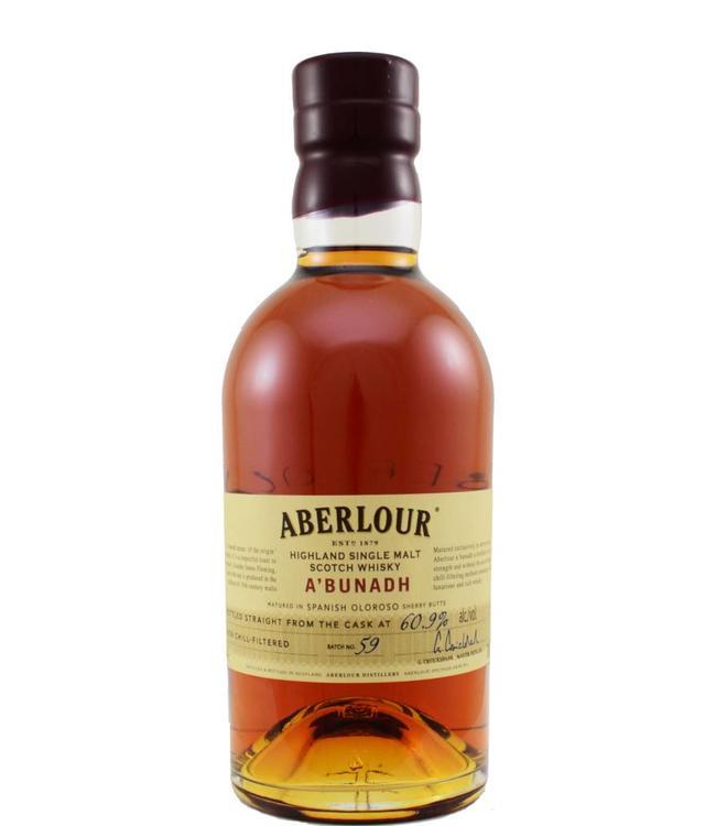 Aberlour Aberlour A'bunadh batch # 59