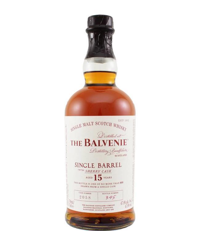 Balvenie Balvenie 15-year-old - cask 2058