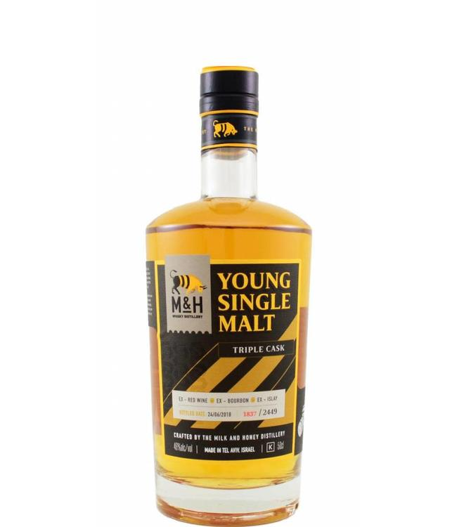 Milk & Honey Whisky Distillery M&H Whisky Distillery Young Single Malt