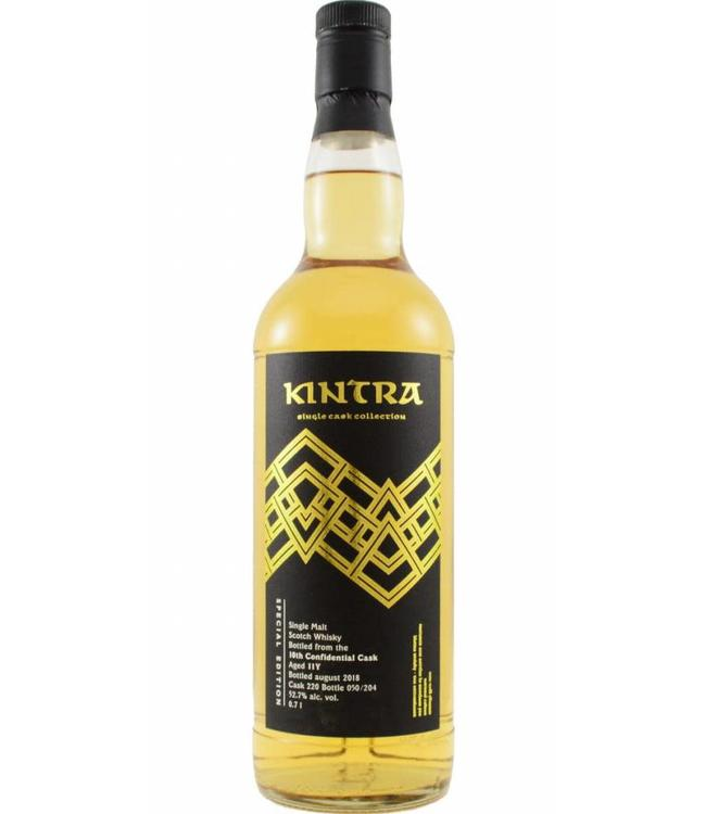 10th Confidential Cask 2008 Kintra Whisky