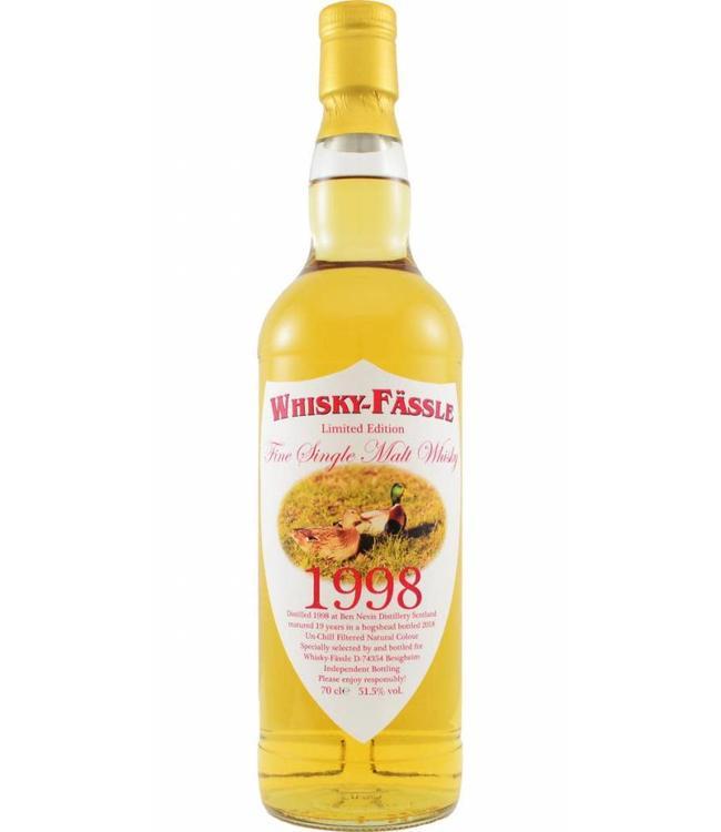 Ben Nevis Ben Nevis 1998 Whisky-Fässle