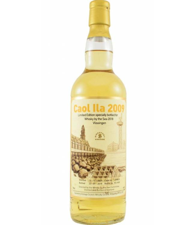 Caol Ila Caol Ila 2009 Signatory Vintage voor Whisky by the Sea 2018