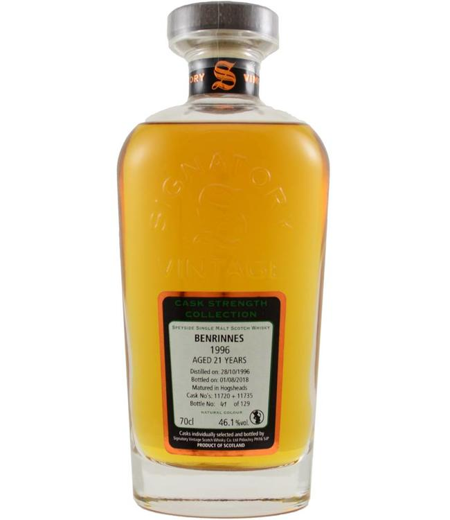 Benrinnes Benrinnes 1996 Signatory Vintage - 46.1%