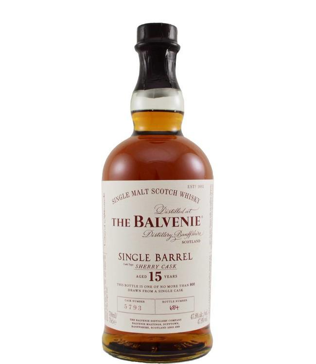 Balvenie Balvenie 15-year-old - cask 5793