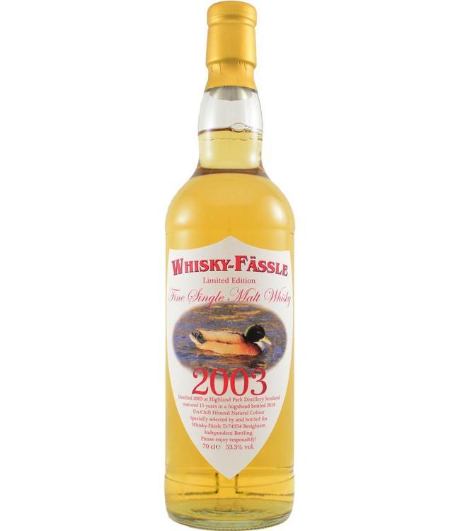 Highland Park Highland Park 2003 Whisky-Fässle
