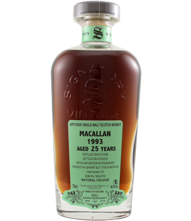 Macallan Macallan 1993 Signatory Vintage