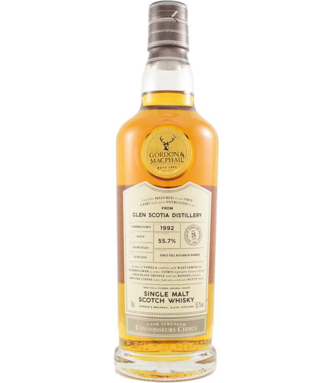 Glen Scotia Glen Scotia 1992 Gordon & MacPhail