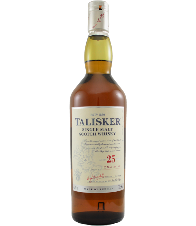 Talisker Talisker 25-year-old - 2018